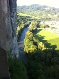 Castle view of the Orava River